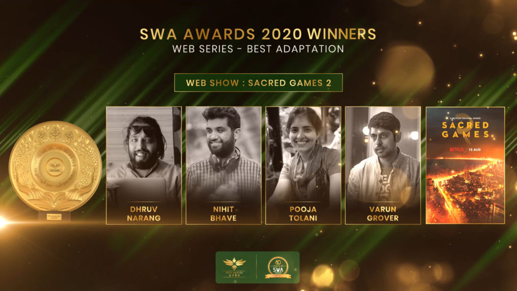 WEB SERIES - Best Adaptation