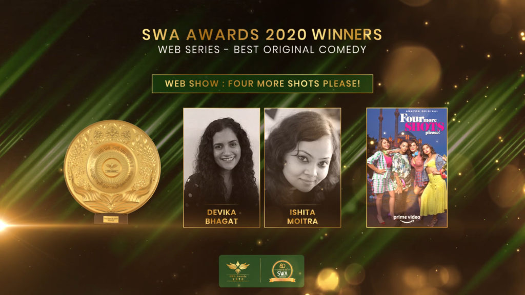 Web Series -Best Original Comedy