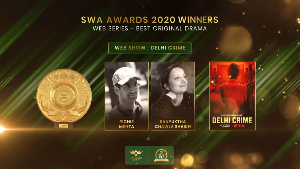 Web Series - Best Original Drama
