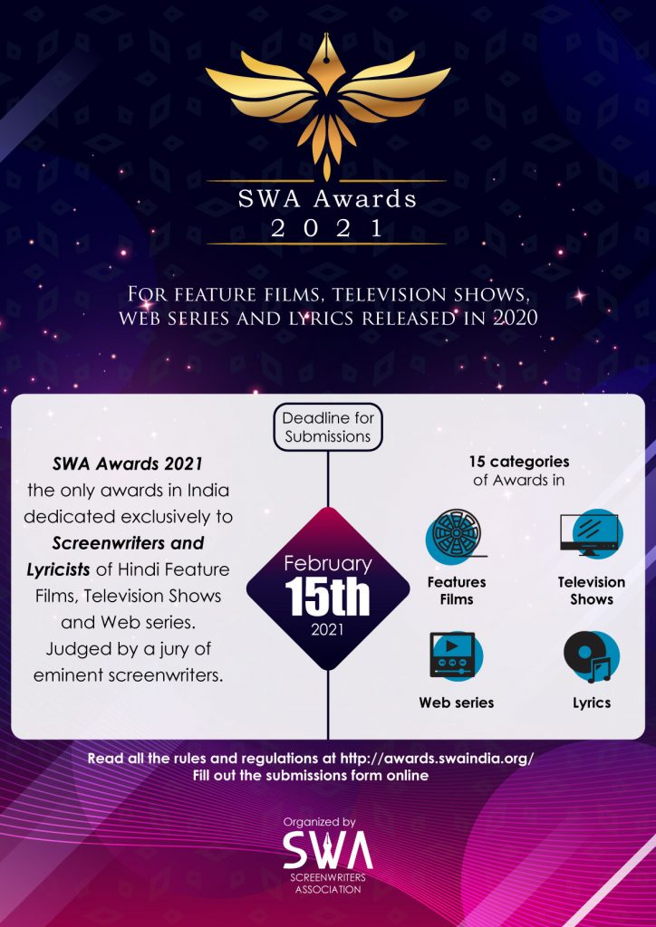 SWA Awards 2021 Poster